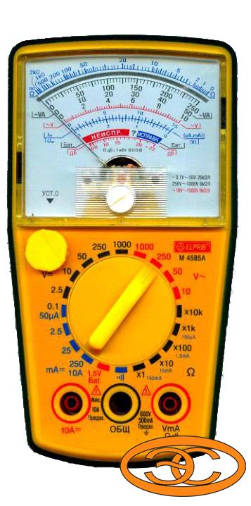 Контрольно-измерительный прибор мультиметр M4585A.  Главная.  778,80.