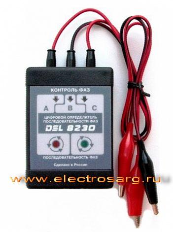 Указатель последовательности чередования фаз используется для определения фаз в трехфазных цепях переменного тока...